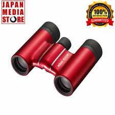 NIKON Binoculars ACULON T01 10-21 ACT01 Roof Prism Red ACT0110X21R