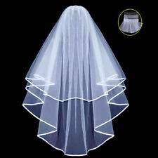 Bridal Veil Comb Bride to Be Hen Night Wedding Party White Fancy Dress
