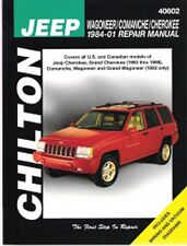 1984-2001 Jeep Wagoneer Comanche Cherokee Repair Manual 1997 1998 1999 2000 7101