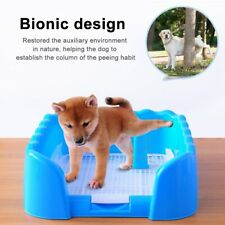 Portable Pet Litter Box Dog Indoor Training Toilet Outdoor Fence Cat Potty Tray
