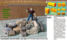 Scale Model Masterpieces/Yorke Junk Pile-Tanks Wood Boxes Barrels Pipes HO