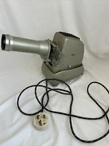 Vintage Aldis Slide Projector Heavy Tested and Working W10