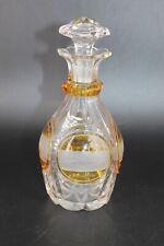 Une carafe en cristal de Bohème, Allemagne, 19ème