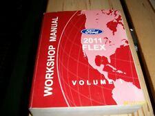 2011 Ford Flex Oem Factory Service Manual Workshop Manual Volume 1