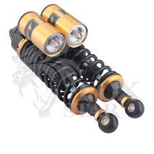 "Universal Black Golden 320mm/12.5"" Motorcycle Air Shock Absorber Rear Suspension"