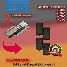 Handsender kompatibel zu ELKA Garagentor SKX1LC,SKX2LC,SKX4LC