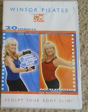 Winsor Pilates 20 Minute Circle Workout DVD Accelerated Fat Burning Fitness