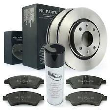 Bremsscheiben 266mm + Bremsbeläge vorne + Bremsenreiniger Citroen Peugeot