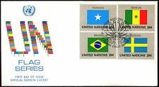 United Nations 1983 Flags Series FDC First Day Cover #C36036