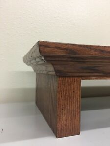 Traditional Oak TV Riser Stand