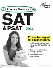 College Test Preparation Ser.: 11 Practice Tests for the SAT and PSAT, 2014...
