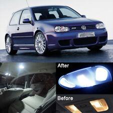 LED Interior Light Kit HID Withe Reading Lamp For MK4 VW Golf GTI Jetta (10pcs)