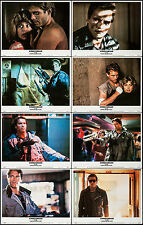 """Posters The Terminator 1984 8 Lobby Cards 11""""x14"""" NM 9.0 Arnold Schwarzenegger"""