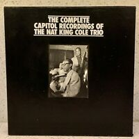 NAT KING COLE The Complete Capitol Recordings (18 CDS,1993 BOXED SET) MOSAIC