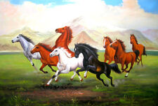 "High Quality Oil Painting ""Horse #026"" 24""x36"""