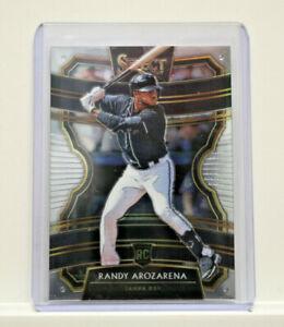 2020 Panini Select Baseball Randy Arozarena Tampa Bay Rays RC