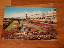 Vintage Phot Postcard- Sunken Gardens And Peace Statue, Brighton -Used