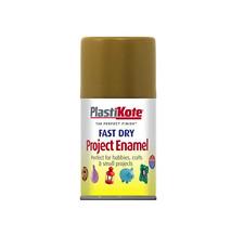Plastikot 100 ml Antique Gold Spray Fast Dry Arts Craft Cardboard Metal Glass