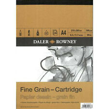 Daler Rowney Grain Fin cartouche pad - 160gsm 30 feuilles-A3