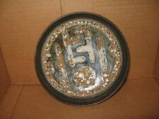 Vintage Lapid Israel Art Pottery Bowl Mid Century Modern 7