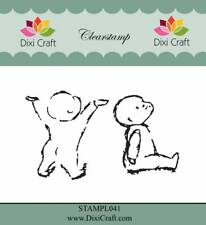 New Dixi Craft Clear Stamp Baby Babies 2