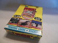 Two Box of Desert Storm Victory Series Topps Trading Cards Unopened Pack Box