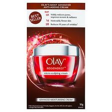 OLAY REGEN - MICRO-SCULPTING ADVANCED MOISTURISING CREAM 50G
