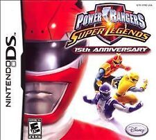 Power Rangers Super Legends - 15th Anniversary (Nintendo DS, 2007)