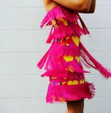 New Versace for H&M skirt top tassel heart love pink EU 38 US 8