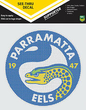 NRL Parramatta Eels iTag See-Thru Decal Sticker