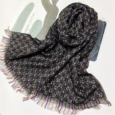 Winter Baby Scarf Cashmere Wrap Pashmina Shawl Floral Jacquard Pattern SI