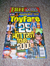 Toy Fare Magazine - MAY 2000 WWF - SIMPSONS - SOUTH PARK - 25 HOTTEST TOYS