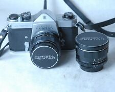 Pentax Spotmatic with 50 and 28 lenses