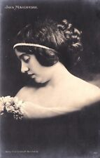 Ines Maccaferri cart. con dedica ad Anna Fougez . Firenze 1913