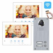 2-Draht BUS IP WLAN Video Türsprechanlage 2 Familienhaus Zweifamilienhaus