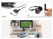 3.5mm Bluetooth Audio Transmitter A2DP Stereo Dongle Adapter for TV iPod Mp3 MP4