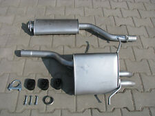 Mercedes C180 C200 CL203 1.8 2.0 kompressor exhaust system silencer *938