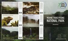 More details for dominica 2015 mnh unesco morne trois pitons national park 6v m/s lizards iguana