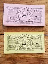 The Game of Life Spongebob Squarepants Edition Money