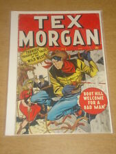 TEX MORGAN #2 G+ (2.5) MARVEL COMICS OCTOBER 1948