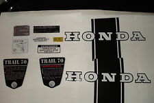 CT70 KO CT-70  69,70,71 frame decals, graphics, Complete Set!!