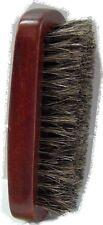 soft BRISTLE WAVE HAIR Military BRUSH  MAN brown wood