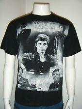 SCAREFACE TONY MONTANA Men's Black White T-Shirt shirt Short Sleeve sz.Large NEW