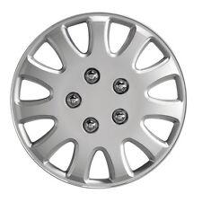 """Ikon 14 """"Auto ruota rifinitura-Taglia unica-Coperchio in Plastica Argento-UNIVERSALE"""
