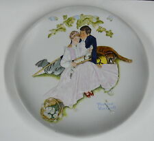 """Norman Rockwell'S > Flowers In Tender Bloom > Large (11"""") > discounted a"""