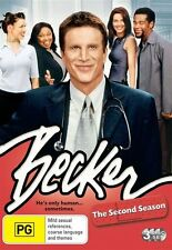 Becker : Season 2 (DVD, 2009, 3-Disc Set) NEW
