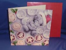 """Me to You Christmas Card - """"Dad"""" Tatty with Mince Pies"""
