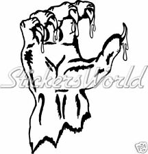 BLOODY MONSTER CLAW, Beast Claws - Vinyl Sticker, Decal
