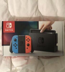 Nintendo switch V1 En Boîte - TBE - FR