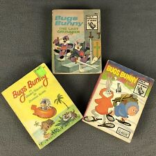 Bugs Bunny Big Little Books Lot Of VTG 1967-1974 Whitman Warner Brothers Cartoon